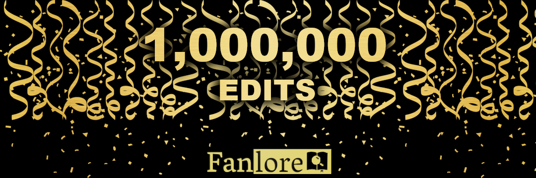 Fanlore: 1 Million Edits