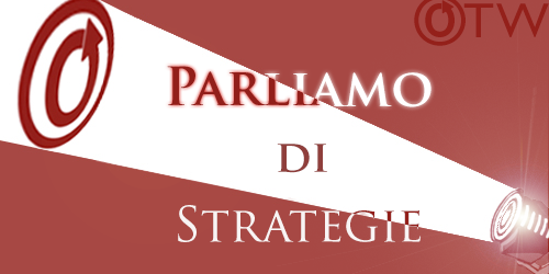 Banner by Erin of a spotlight on an OTW logo with the words 'Spotlight on Strategic Planning'