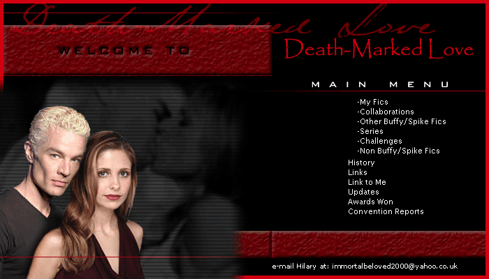 Death-Marked Love site banner