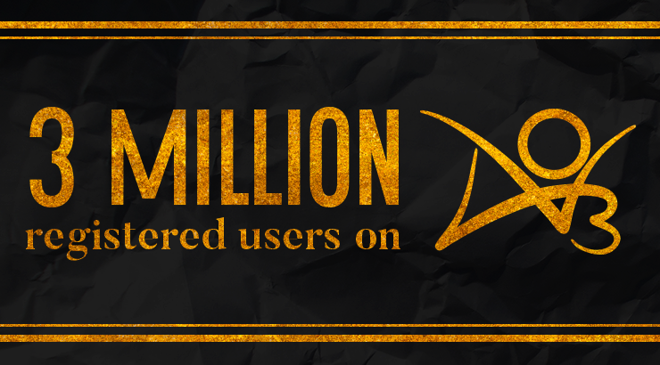 The AO3 Reaches Three Million Registered Users!