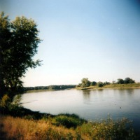 photo of a river landscape
