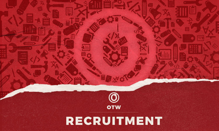 OTW recruitment banner by Blair