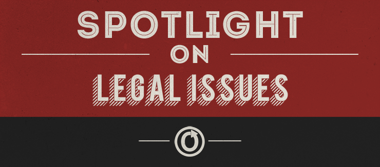 OTW logo with the words 'Spotlight on Legal Issues'