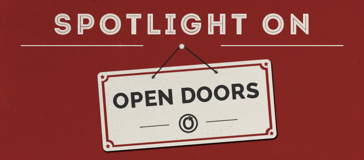 Spotlight Open Doors header