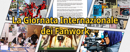 Banner realizzato da Ania di vari fanwork tra cui cosplay, fanfiction e arte visuale