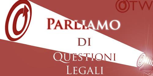 Parliamo di questioni legali