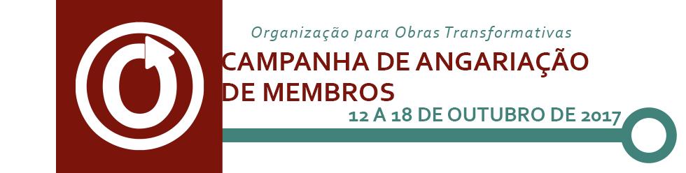 Campanha de Angariação de Membros da OTW (Organização para Obras Transformativas), 12 a 18 de outubro de 2017