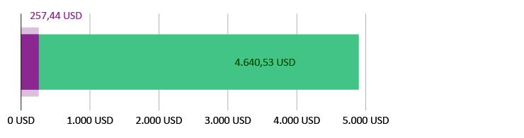 257,44 brugt; 4.640,53 tilbage