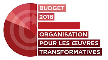Organisation pour les Œuvres Transformatives : Budget 2018