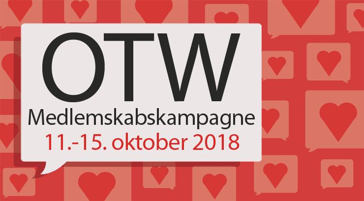 Organisationen for Transformative Værker Medlemskabskampagne, 11.-15. oktober 2018