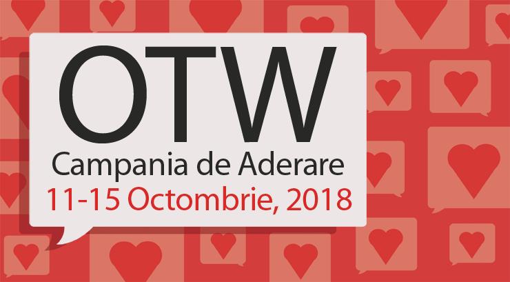 Campania de Aderare a Organizației pentru Lucrări Transformative,11–15 Octombrie, 2018