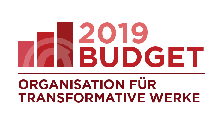 Organisation für Transformative Werke: Budget 2019