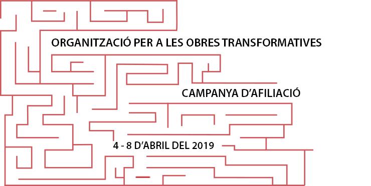 Campanya d'afiliació de l'Organització per a les Obres Transformatives, Abril 4 - 8, 2019