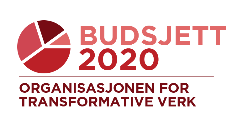 Organisasjonen for transformative verk: budsjett for 2020