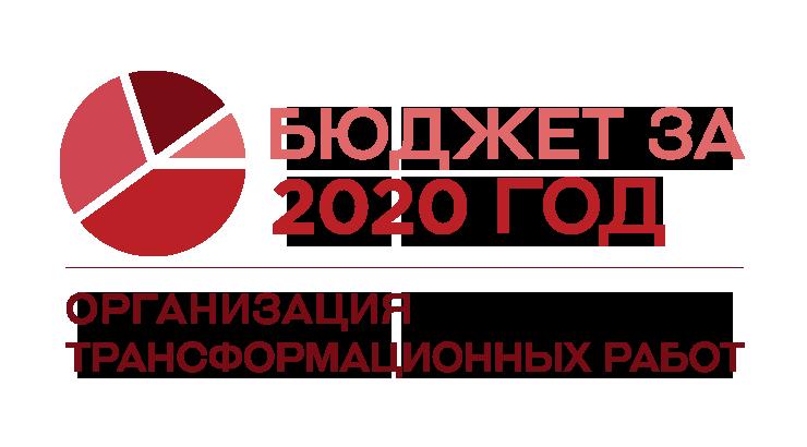 Организация трансформационных работ: уточненный бюджет на 2020 год