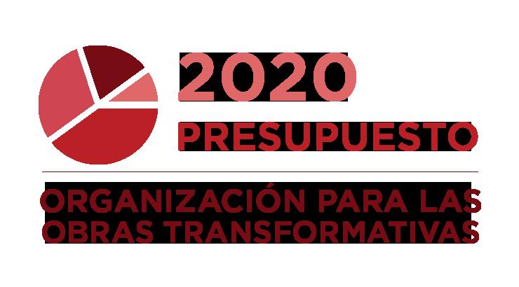Organización para las Obras Transformativas: Actualización del presupuesto 2020