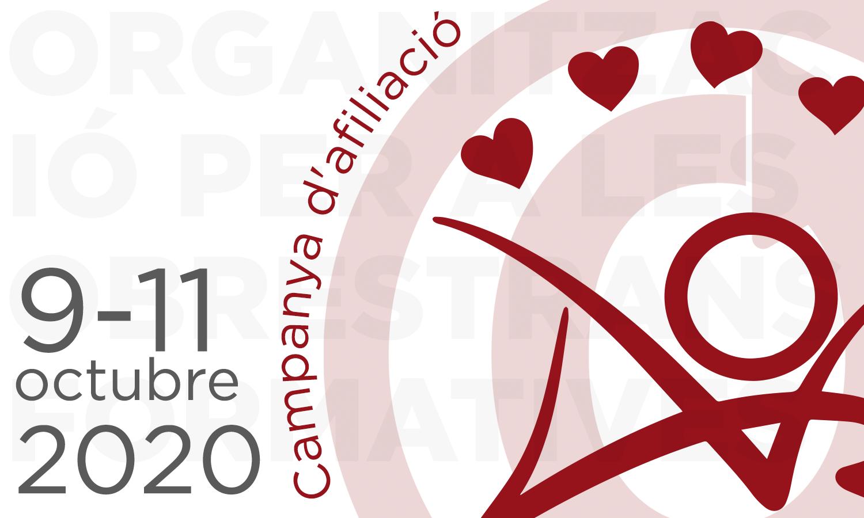 Campanya d'afiliació de l'Organització per a les Obres Transformatives,9–11 d'octubre del 2020