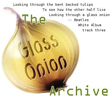 Glass Onion banner