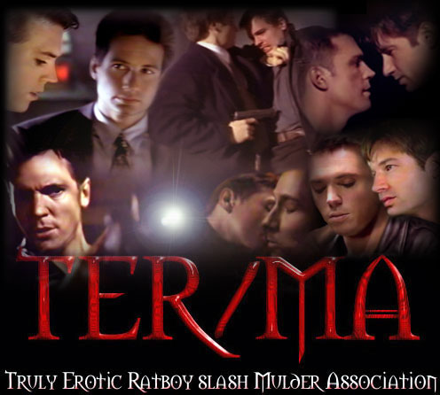 Various images of Mulder and Krycek together