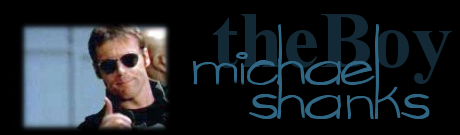 The Boy / Michael Shanks banner