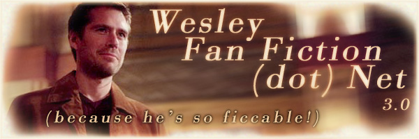WesleyFanfiction.net header graphic